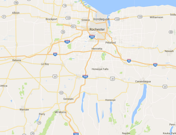 Rochester NY Security Sales Territory