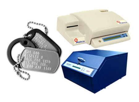 Dog Tag Embossing Machines