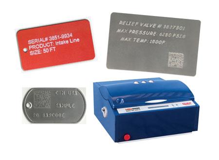 metal tag marking machine
