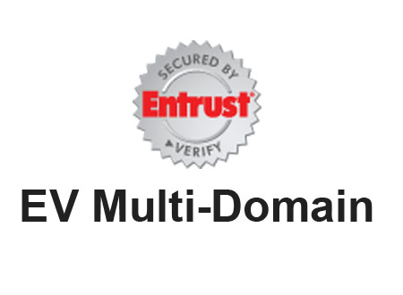 EV Multi-Domain Entrust SSL