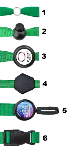 Lanyard Add-on Options