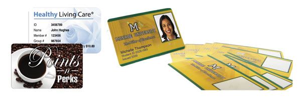 Plastic Card Printing Service Examples