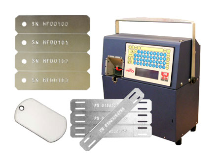Portable Metal Plate Embossing Machine