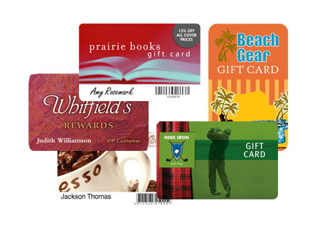 Pre-Printed Custom Loyalty and Gift Cards