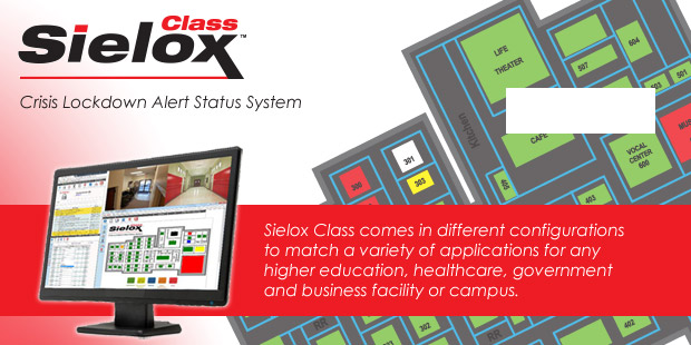Identisys offers Sielox Class, a Crisis Lockdown Alert Status System