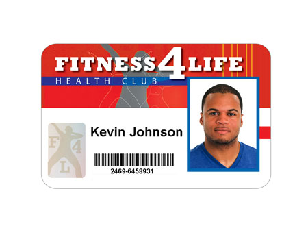 Gym Health Club Membership Cards