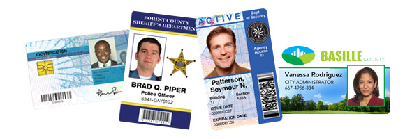 Government ID Badges and ID Cards