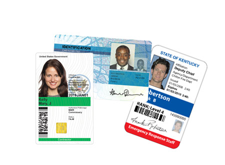 Government ID Cards and Badges