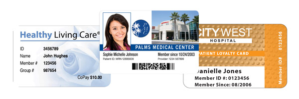 Insurance Medical Cards Patient - Id Identisys