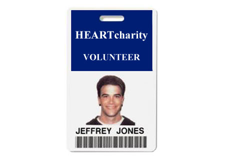 Nonprofit Volunteer Identification Badge