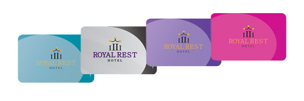 Pre-Printed Hotel Room Key Cards