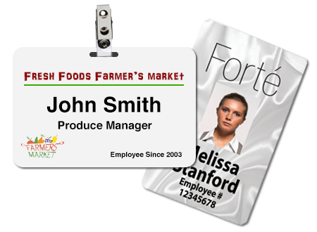 Retail ID Name Badges