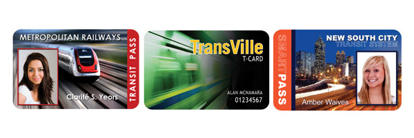 Transit Bus / Train Cards and Passes