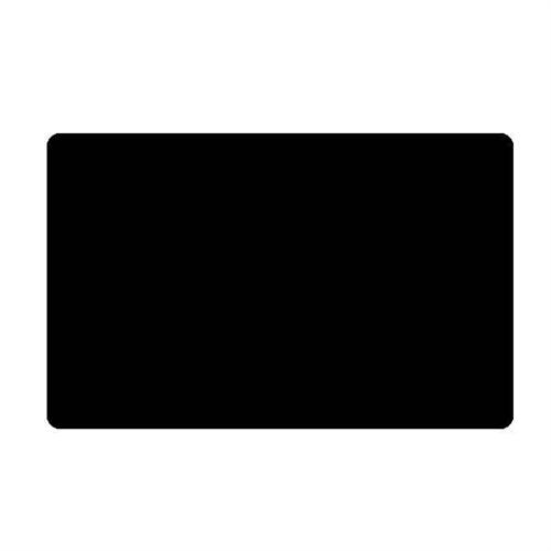 Blank Black PVC Plastic Cards CR8030 Tray of 500 Cards – Blank Membership Cards