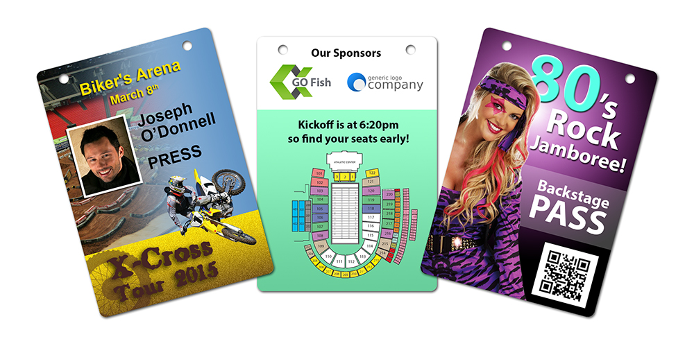 Custom Event Badges and VIP Passes