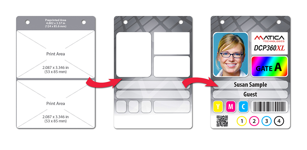 Oversized ID Badge Printer Systems | Event Badge Printing