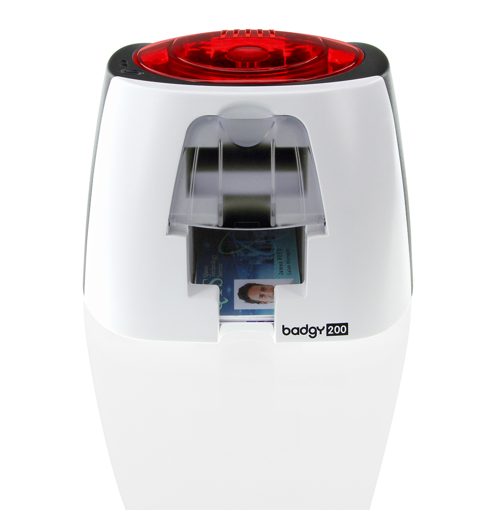 Evolis Badgy 200 Single-Sided ID Card Printer