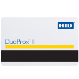 HID DuoProx® II Card 125 kHz with magnetic stripe