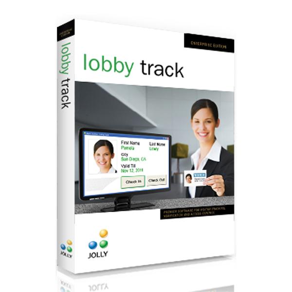 Jolly LobbyTrack software
