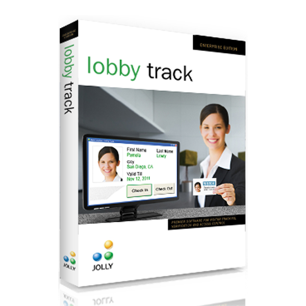Jolly LobbyTrack software