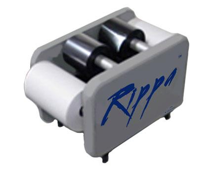 rippa ribbon feed device card printer ribbon shredder attachment