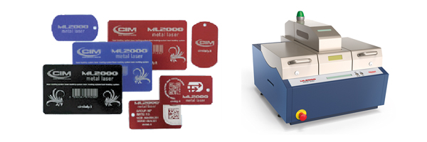 Metal Tag Laser Marker, Engraver and Etcher